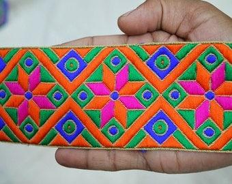 Wholesale Jacquard Ribbon Trim Lace Indian Sari Border Trimmings Decorative Craft Ribbon Jacquard Border Trim By The Yard Sewing  Lace Trim