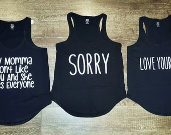 Custom Bieber Tanks