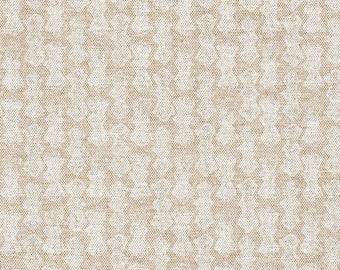 Shower Curtain Echo Geometric Chalk White