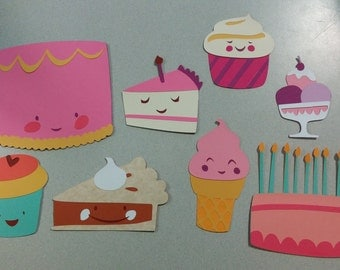 Sweets For The Sweet Birthday Die Cuts
