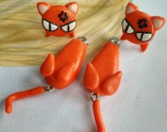 Kyo Sohma Fruits Basket Earrings