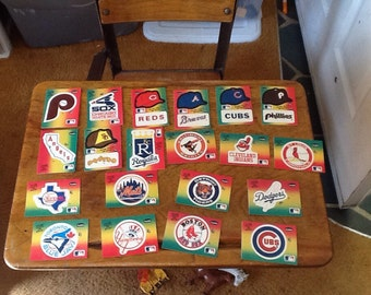 1984 Fleer Baseball stickers