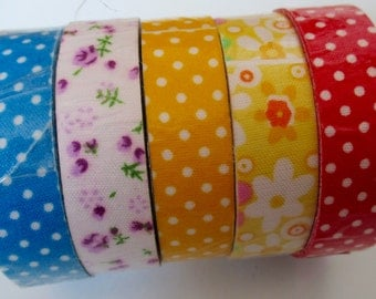 Set of adhesive Fabric Tape