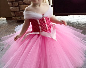 Aurora Princess Dress- Sleeping Beauty Princess Dress Costume -Disney Princess Dress - Princess Tutu Dress - Disney Costume- Halloween