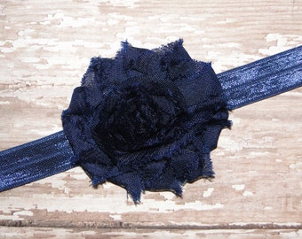 Navy Blue Baby Headbands, Newborn Headband, Baby Headband, Headband, Infant Headband, Newborn Headbands, Baby Girl Headband, Infant Headband