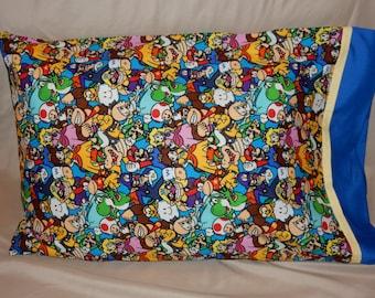 Super Mario Pillowcase