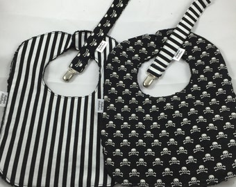 Black and White 2 Piece Baby Gift Set