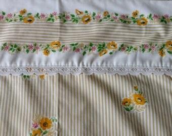 New Gorgeous Cannon Monticello Vintage Sheet Set | Vintage Full Size Sheet Set | Floral Sheet Set | Full Size NEW