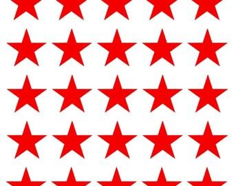 Vinyl star sheet