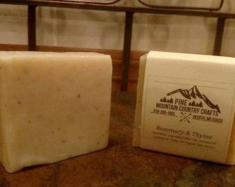 Rosemary Thyme Soap