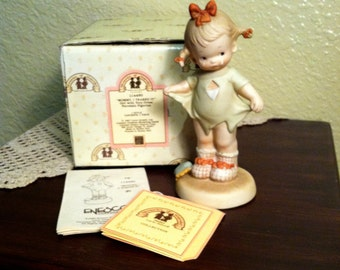 Vintage Mabel Lucie Attwell 'Memories Of Yesterday' Figurine - Mommy, I Teared It (1987)