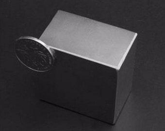 N52 Super Strong Block Rare Earth Neodymium Magnet 47x47x28mm