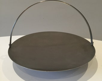 Retro 1960s 60s 70s Old Hall Robert Welch stainless steel cake stand fruit bowl