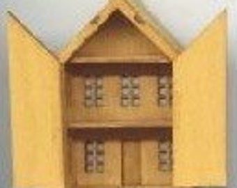 Toy Dollhouse Kit  DI-/ DIY Dollhouse miniatures TY108