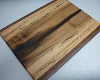 Chopping board / Cheese platter Tasmanian Sassafras and Blackheart