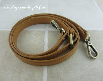 Tan Leather Purse Strap Replacement