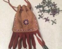 New Mexico Southwestern Beaded Jacks Bag