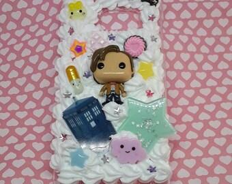 Custom Dr Who decoden phone case iPhone Samsung Galaxy kawaii