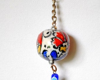 Hand-painted Istanbul Keychain