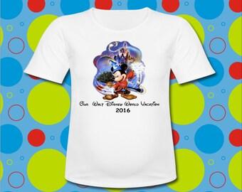 Disney World Vacation T Shirt Mickey Magic all sizes Disney vacation T Shirt Mickey Mouse