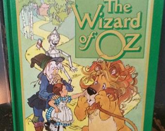 Vintage 1980s Hallmark King Size Pop-up Book  The Wizard of Oz/Collectible Hallmark Book/Childrens Books/Nursery Decor