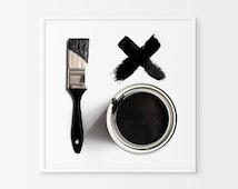 Black and White Prints - Black and White Art - Black and White Wall art - Modern  Art - Black and White Home Decor