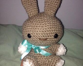 Fuzzy Bunny Rabbit Doll