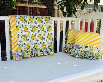 SALE! Beautiful blossom 3pc Baby Bedding set