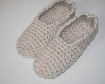 Ready to ship! Alpaka chunky slippers,  Chunky knit slippers, Crochet slippers, women slippers, House slippers