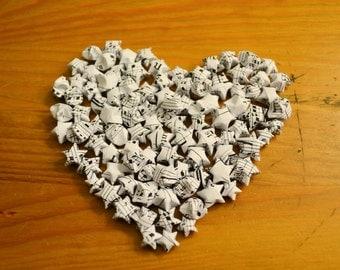 100 Origami Stars - [Sheet Music]