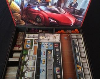 Kanban Foam Core Insert for Board Game