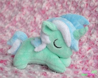 Sleepy Lyra plush   mlp