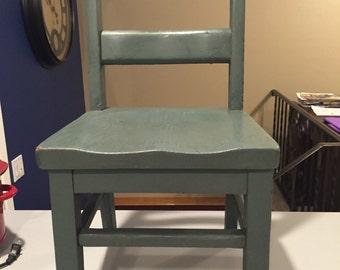 Chair, School Desk Chair, Wooden Kindergarten Chair