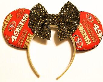 San Francisco 49ers Minnie Ears (Alternate)