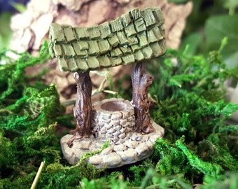 Miniature Teeny Wishing Well