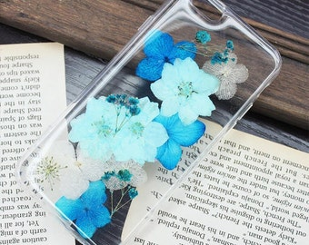 Tanacrafts-iPhone 7 7+ 4 5 6 6s 6+ Samsung s4 s5 s6 s7 note3 note4 note 5 Pressed Flower Case Real dried flowers Floral Phone case