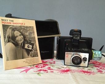 Vintage Polaroid Square Shooter 2