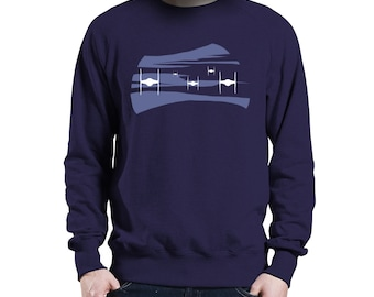 TIE Approach - Star Wars Inspired Jumper (High Quality Fabric - Custom Print - Original Design)