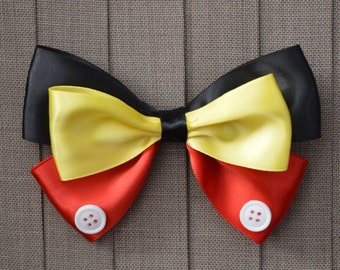 Disney Inspired Mickey Mouse Hair Bow