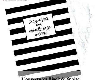 Calendar 2016 Black & white - planner 2016