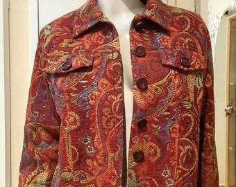 Vintage Coldwater creek Jacket blazer coat Size PM