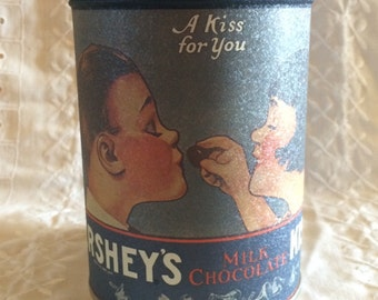 Hershey's Kiss Canister 'A Kiss For You'