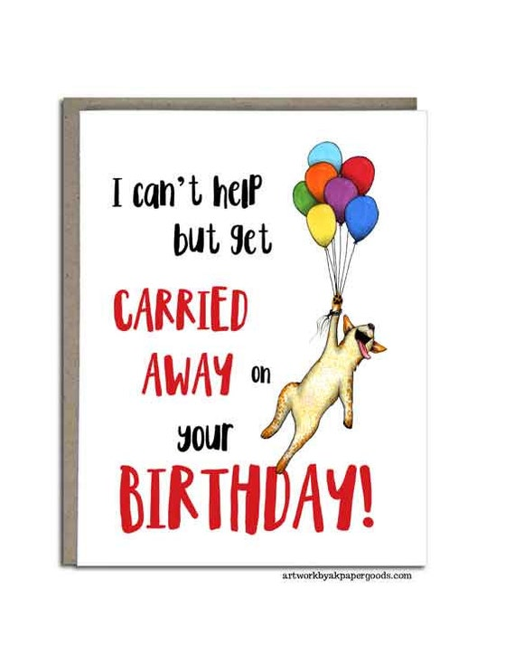 Australian Cattle Dog Birthday Card Red Heeler Handmade