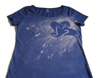 100% Handmade Bleached T-shirt - Hinduphant