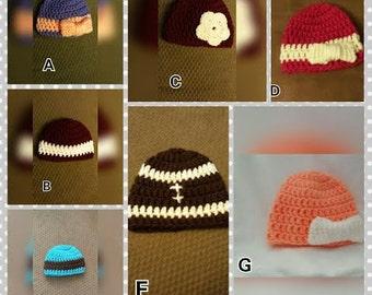 Preemie Pack (4 hats)