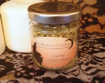 Organic Catnip ~ Witchs Cupboard, Magickal Herb Jar, Pagan Herb Jar, Wiccan Herb Jar, Familiar Magick, Spirit Familiar Invocation, & More