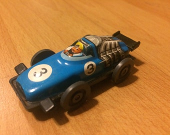 Vintage Tin Racecar made in W. Germany