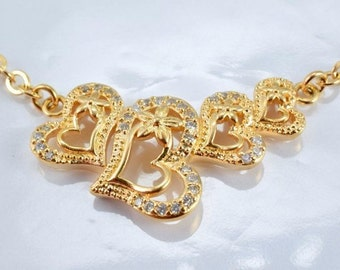 """Gold Filled Chain 17.75"""" Inch 18k Gold-filled findings for gold filled jewelry making Cg55"""