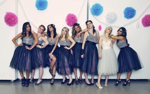Tulle Skirt Bridesmaids Wedding | Tutu Skirts Bride