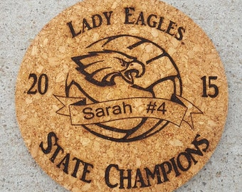 Lady Eagles Volleyball State Champs